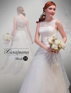 Novias Casajuana | Vestidos de novia | Boda | Vestidos económicos