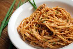 Espaguete com atum Chef Taico, Food Videos, Spaghetti, Salsa, The Creator, Cooking, Ethnic Recipes, Portugal, Blog