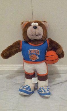 VINTAGE 1992 NEW YORK KNICKS TEDDY BEAR