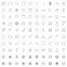 PixelLove Free Icons 1x (Standard)