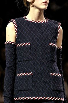 fashion shows fall couture chanel slideshow collection