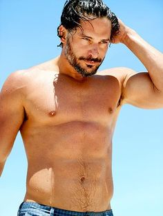 'True Blood' star Joe Manganiello shows off his toned body while out for a swim in Miami on June Joe Manganiello Shirtless, Joe Manganiello True Blood, Fireman Outfit, Dapper Suits, Magic Mike, The Joe, Male Torso, Mtv Movie Awards, Hot Actors