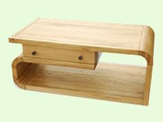Oak Lounge Coffee Table Available from ScS