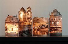 Coole DIY Fotolampen mit wunderschönen beleuchteten Gebäuden Ihrer Wahl