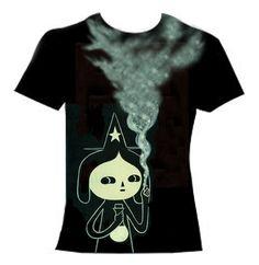 "T-shirt Design by Fio Zenjim 2015. ""Magik Heart"""