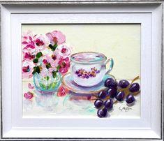 Lilac Flowers, Red Roses, Original Paintings, Original Art, Bird Artists, Irish Landscape, Irish Art, Acrylic Art, Fine Art Gallery