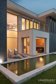 Swimming Pool Designs, Ideen Und Bilder | Arquitetura, Swimming Pools And Pool  Designs