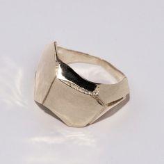 Parched Earth, Palladium Ring, unisex ring, wedding ring, wedding band, mens ring. $780.00, via Etsy.