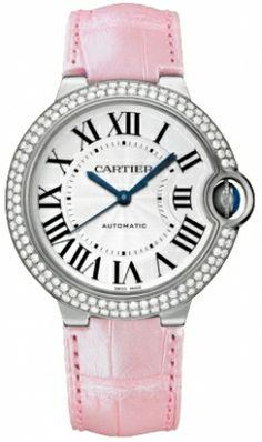 Cartier Ballon Bleu de Cartier 18k White Gold Medium Watch WE900651  $32,220.00   #CartierBallonBleu