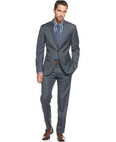 Get An Inspired Look Perfect For The Office And Beyond With This Slim Bar Iii Suit