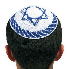 Yarmulke--a skull cap worn by Jewish males