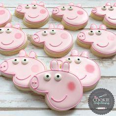 Peppa Pig cookies by