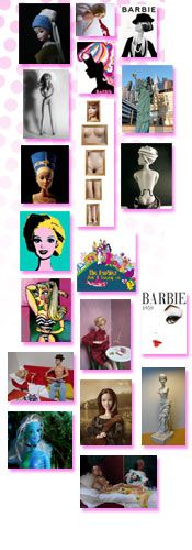 BARBIE from an artist's perspective.