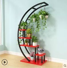 Online Shop Flower Storage Rack Holder Garden Rack Stand Plant Shelves Beautiful nice pergola for living room Balcony shelf House Plants Decor, Plant Decor, Garden Rack, Best Home Interior Design, Flower Stands, Plant Shelves, New Living Room, Hanging Plants, Home Decor Furniture