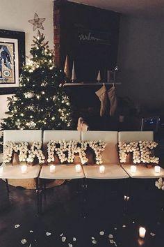 marry me christmas proposal Marie's Wedding, Wedding Goals, Perfect Wedding, Wedding Engagement, Wedding Events, Wedding Planning, Dream Wedding, Engagement Proposal Ideas, Event Planning