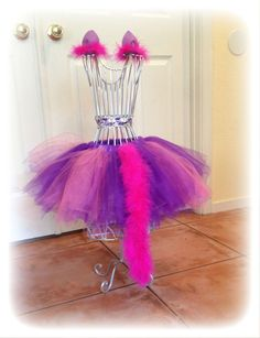 Adult tutu cheshire cat costume rave raver outfit edc by TutuHot