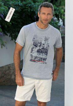 "Camiseta moderna manga corta print ""city""  #lovemassana #streetstyle"