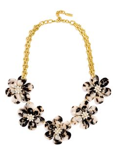 BaubleBar 'Twiggy' Floral Collar Necklace available at Shell Jewelry, Jewelry Box, Shell Necklaces, Jewelry Necklaces, Collar Necklace, Wedding Jewelry, Twiggy, Fashion Jewelry, Jewels