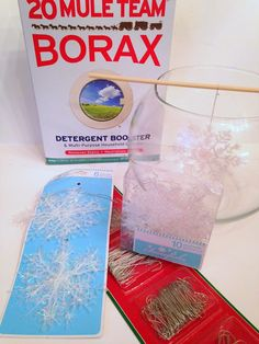 *Rook No. 17: recipes, crafts & whimsies for spreading joy*: Holiday Magic: Fancified Borax Crystal Snowflakes {and Candle-lit Centerpieces}