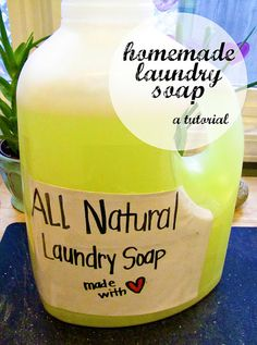 Alexandra Rose: Homemade laundry soap {eco-friendly & cheap!} 1 bar Fels-Naptha soap 1 cup of washing soda (it's different from baking soda) 1/2 cup of borax