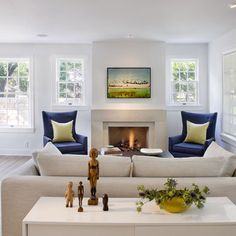 Beach House Fireplace Design, Pictures, Remodel, Decor and Ideas - page 4