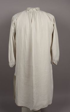 Shirt, 1800-1840. 2007.157.3. American Textile History Museum.