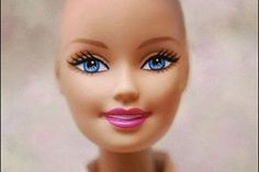 Mattel's hairless Barbie, created to help kids deal with hair loss