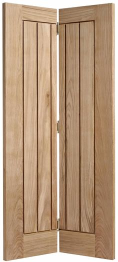 Mexicano Oak Bi-fold Internal Doors - Bifold Doors - Internal doors - July 06 2019 at Oak Bifold Doors, Oak Doors, Wooden Doors, Entry Doors, Front Doors, Patio Doors, Bi Fold Doors Internal, Double Doors, Space Saving Doors