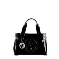 Sac Armani Jeans / Mini Shopper Borsa / Noir