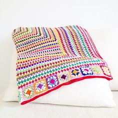 Granny Square Blanket   ANNEMARIE'S CROCHET BLOG / HAAKBLOG   Bloglovin'