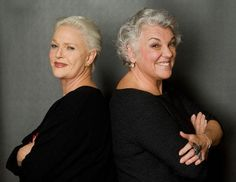 Tyne Daly and Sharon Gless .... still lookin good ladies!!