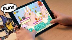 Adventure Time Game Wizard - Draw Your Own Adventure Time Games - En app du kan bygge dine egne spil med
