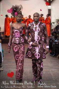 Afro-Wedding-Party-Were-Were-Bazin