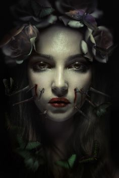 Prepare to enter a dark place. These images may not be for the faint-hearted. Horror Photography, Portrait Photography, Dark Fantasy Art, Dark Art, Art Zombie, Dark Stories, Creepy Photos, Portraits, Horror Art