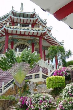 Cebu Taoist Temple, Cebu City, Philippines in one of my areas. Regions Of The Philippines, Visit Philippines, Philippines Culture, Philippines Travel, Beautiful Sites, Beautiful Places, Manila, Great Places, Arquitetura
