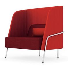 Segis U.S Noldor High-Back Arm Chair Upholstery: Chrome, Upholstery: Momentum Beeline Vinyl Eclipse