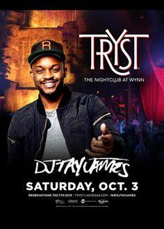 DJ Tay James at Tryst Nightclub