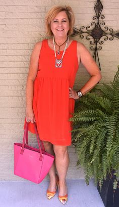 50 IS NOT OLD | HOW TO WEAR A BABYDOLL DRESS