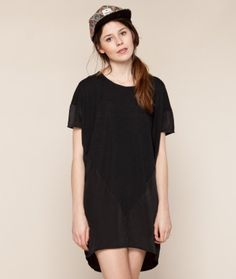 VILA Goldenpoint Tunic black