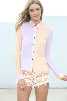 I LOVE button up, alternative shirts.