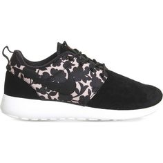 58a39b794a3 NIKE Roshe run woven trainers ( 130) ❤ liked on Polyvore featuring shoes