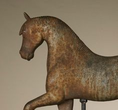 """Another large variety of the """"Rochester"""" horse has entered our inventory each having individual character from the weathered and painted sur..."""