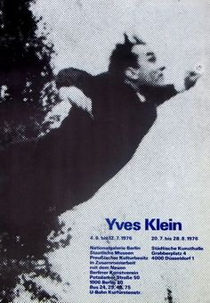 Yves Klein--Master of air and blue