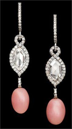 Roberto Sciaguato ~ Conch pearls and diamonds