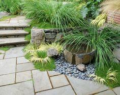 Wasserwand garten originelle gestaltung ideen quellsteine for Originelle zimmerpflanzen