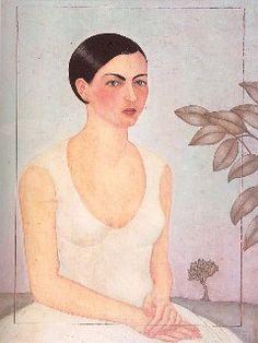 Portrait of Cristina My Sister, Retrato de Cristina Mi Hermana, Frida Kahlo, C0030