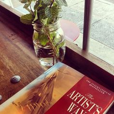 """Leap, and the net will appear."" The Artist's Way, by Julia Cameron 