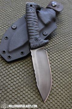 Miller Bros. Blades M-8 Compact. This model is available in Z-Wear PM, CPM 3V…