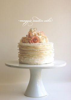 Maggie Austin Ruffled Cake