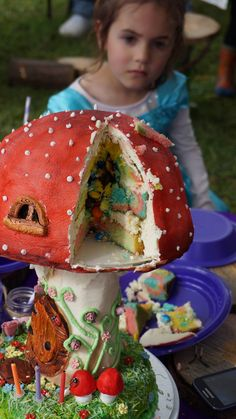 Enchanted Forest Fairy Cake
